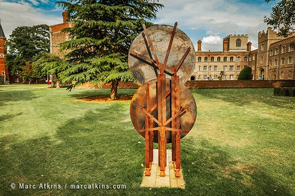 Roger Hiorns Sculpture exhibition Jesus College